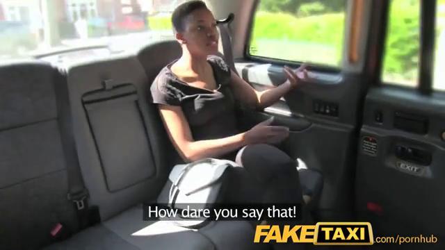 Горячий секс в такси